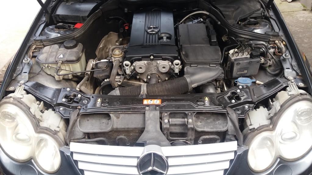 Mercedes-Benz C-200 Kompressor sport coupe año 2008