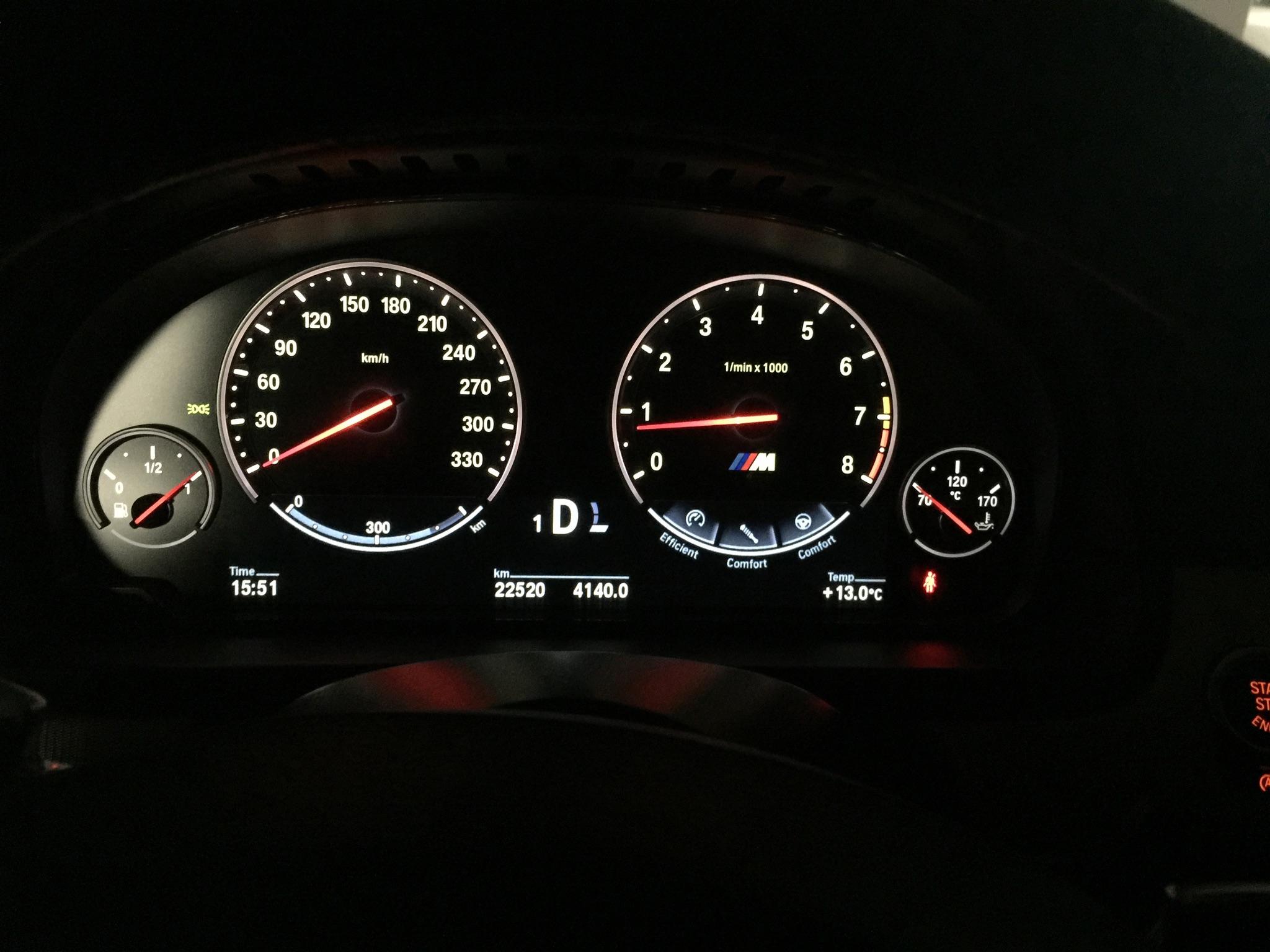 BMW M5  año 2012