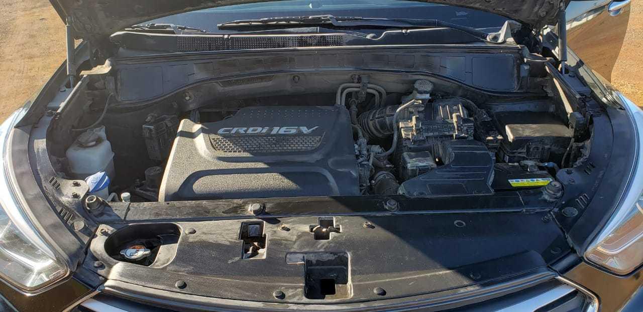 Hyundai Santa Fe DM WGN CRDI 4WD GLS 2.2 AUT. FULL año 2016
