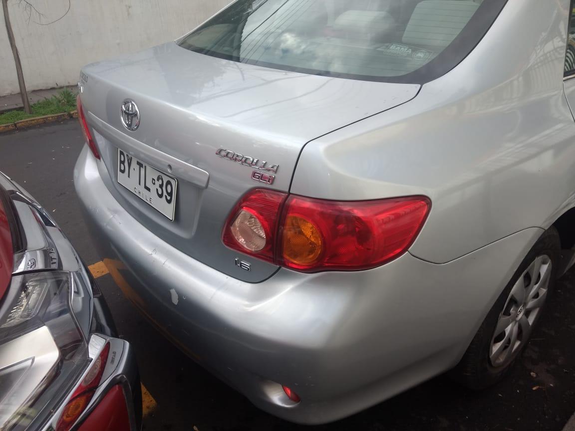 Toyota New Corolla GLI AUTOMÁTICO año 2009