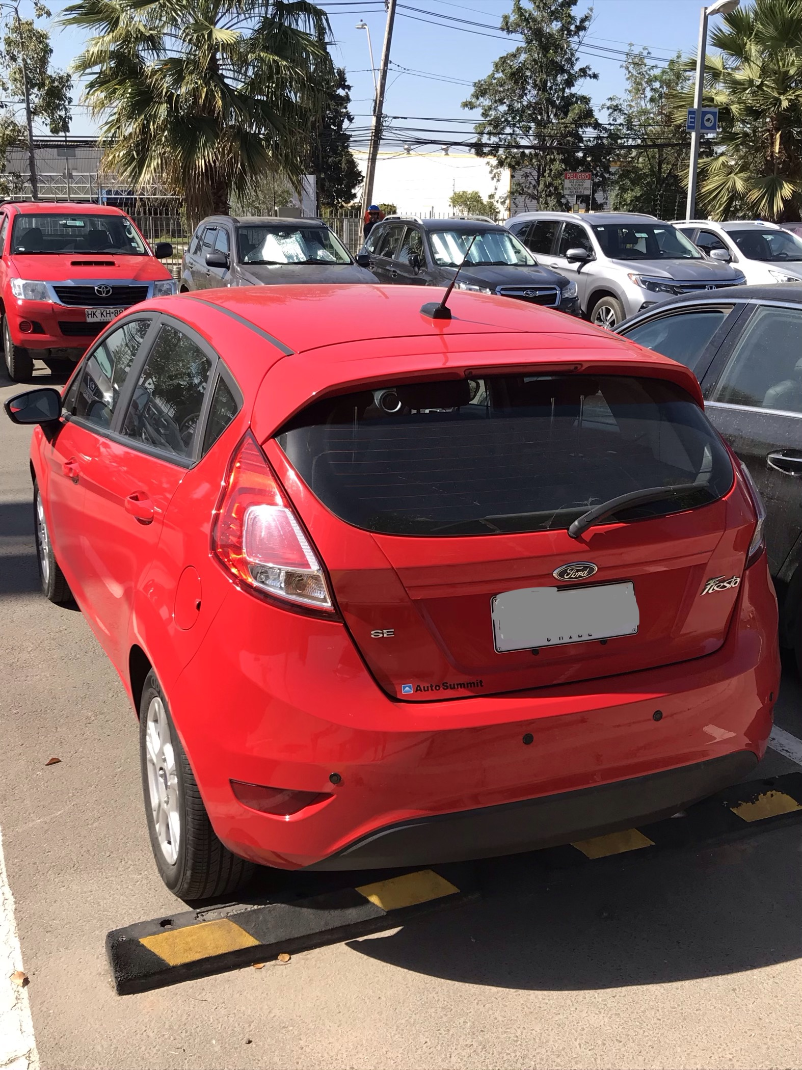 Ford Fiesta 1.6 SE año 2016