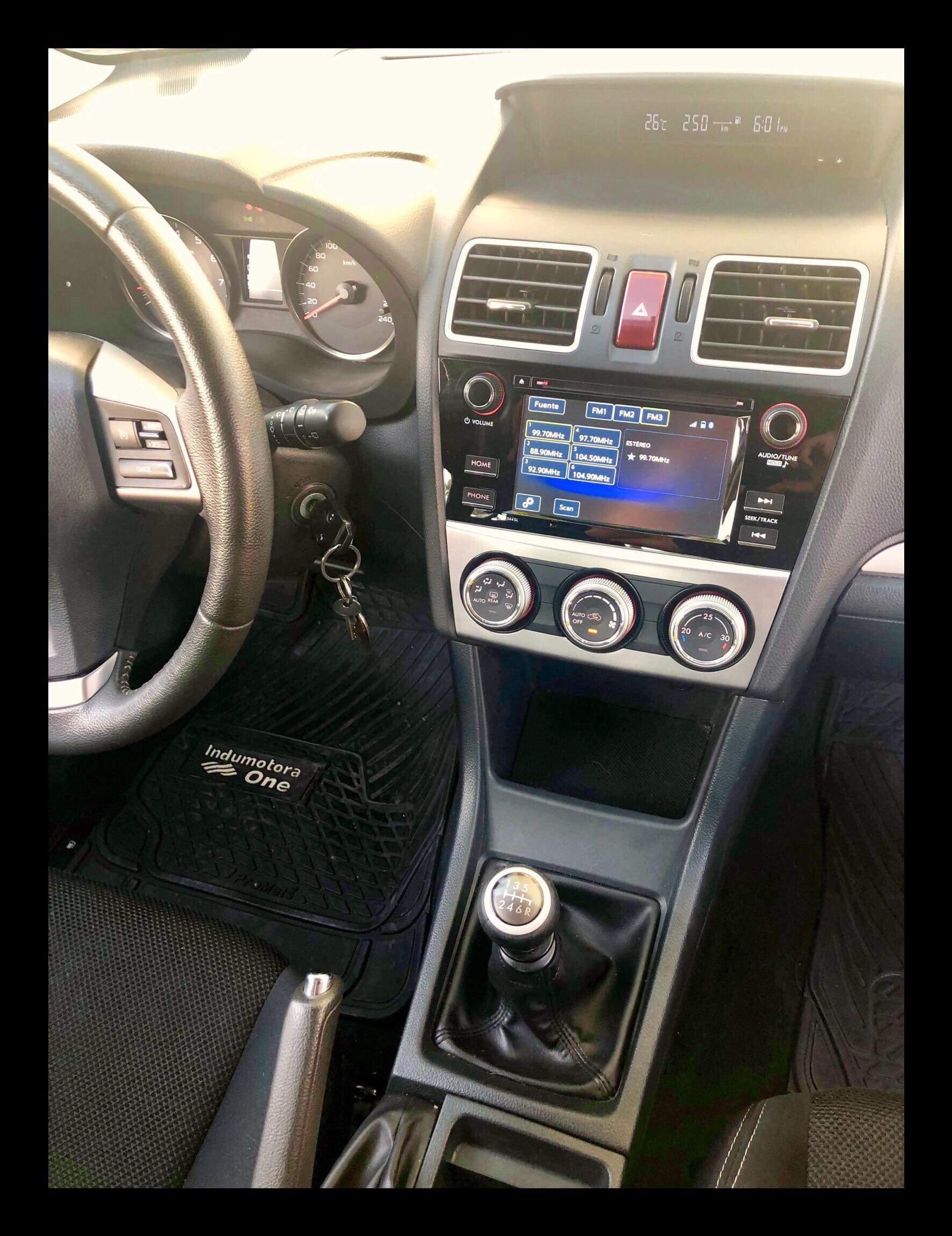 Subaru XV Mecánica 2.0 año 2016