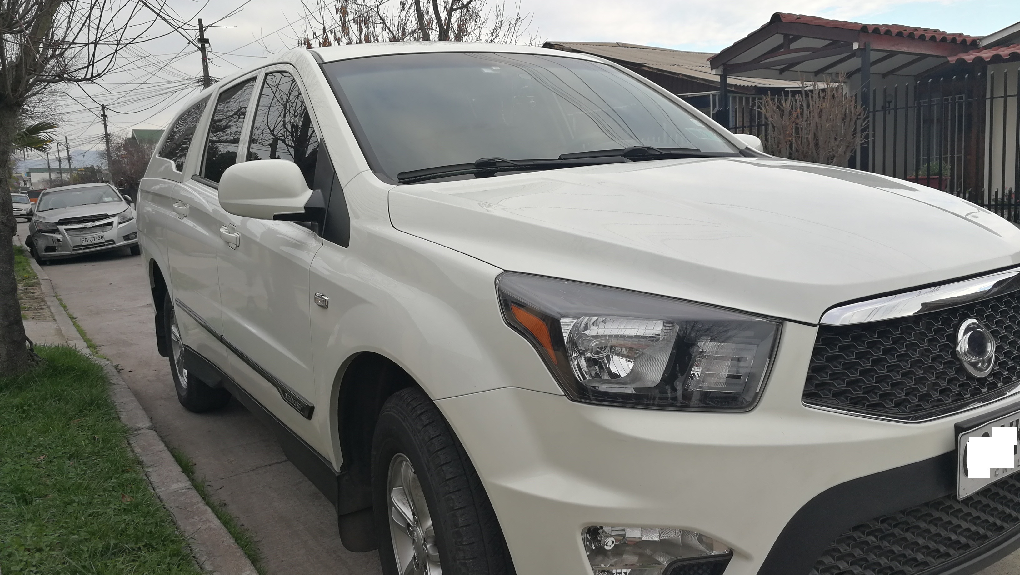 Ssangyong Actyon Sports 4x2 año 2014
